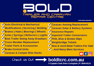 Bold Trailer And Caravan Repair Centre